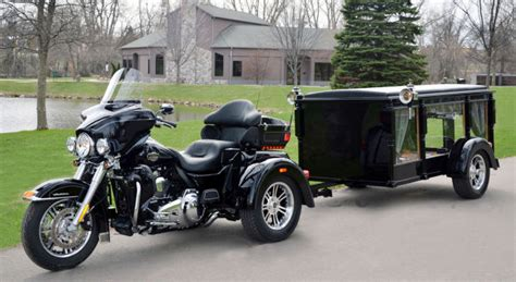 harley hearse provides personal touch features