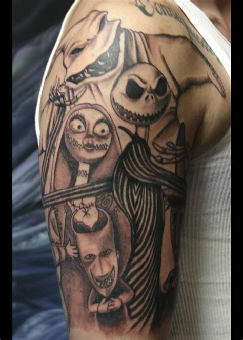 the nightmare before christmas tattoo designs 35 nightmare before design