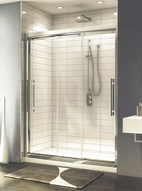 3 Panel Sliding Shower Doors Treviso 3 Panel Sliding Door Artistcraft
