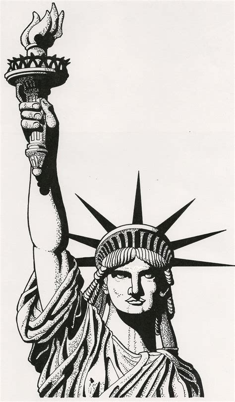 statue of liberty by ramageart on deviantart