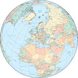 maps for globe europe map