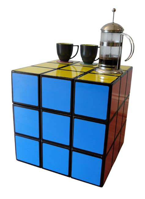 Rubik Coffee Table 15 Most Creative Daily Used Objects Inspired By Rubik S Cubes Crizmo Part 3