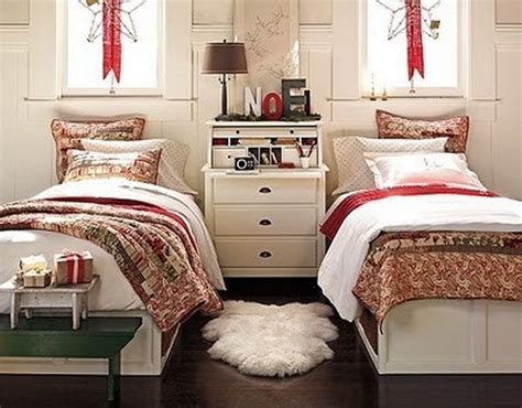 decorating a bedroom for christmas elegant interior theme christmas bedroom decorating ideas family holiday net guide