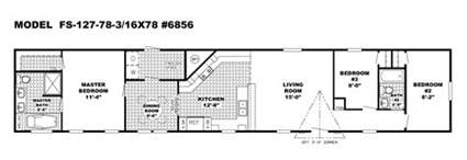 Floor Plans For Mobile Homes Single Wide by Single Wide Mobile Homes Floor Plans Mesmerizing Single