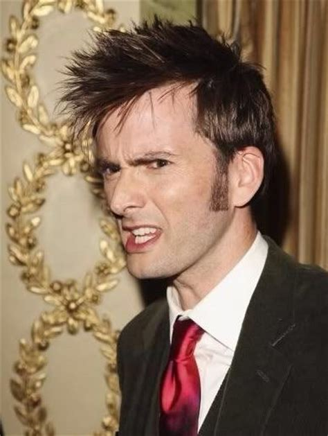 doctor who hairstyles david tennant hair doctor who amino