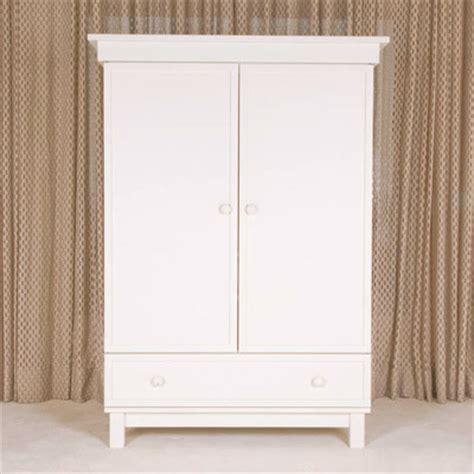 White Wardrobe Armoire by Bratt Decor Manhattan Armoire White