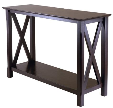 Cheap Entryway Table Gt Cheap Winsome Wood 40445 Xola Console Entry Table