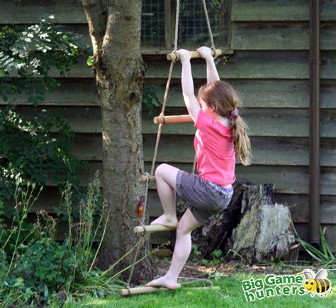 swing rope game rope ladder tree swing tree rope swing