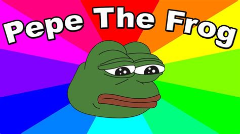 Meme Pepe - who is pepe the frog the creation and origin of a classic