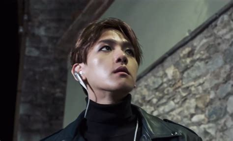 film exo baekhyun exo baekhyun goes on the run in latest quot pathcode quot teasers