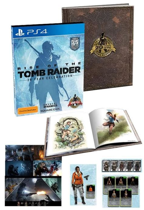 Kaset Ps4 Rise Of The Limited Edition rise of the 20 year celebration limited edition ps4 in stock buy now at