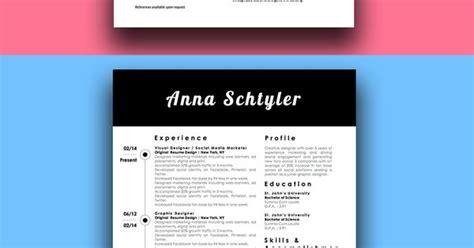 modern millennial resume bundle 3 modern resume