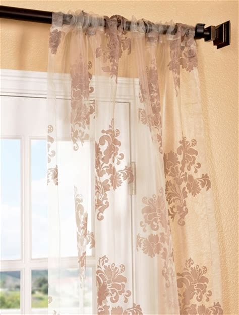 patterned sheer curtain panels sheer patterned curtains half price drapes wayfair