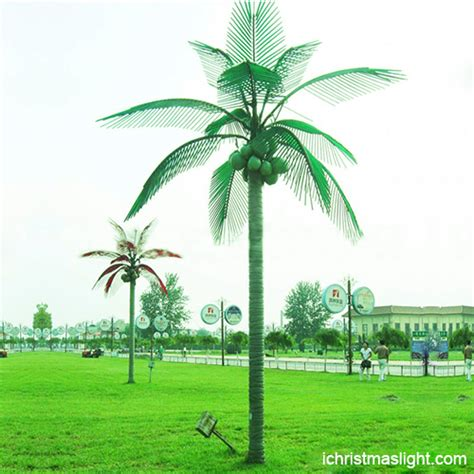 Outdoor Lighted Palm Tree Customized Outdoor Led Palm Trees For Sale Ichristmaslight