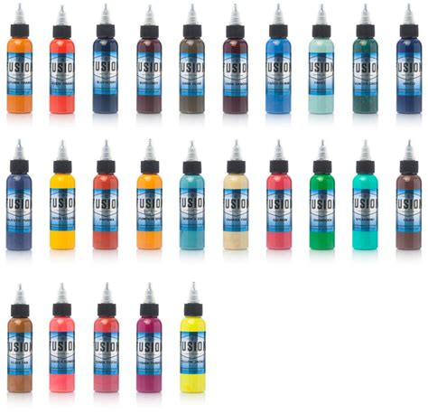 tattoo ink sets fusion ink 25 color set joker supply