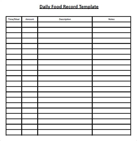 search diary template printable food log template search results calendar 2015