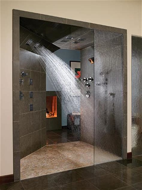 Zero Entry Shower by Welcome Home Des Moines Home Garden Kitchens