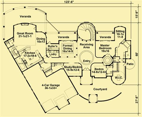 venetian floor plan luxury home plans truly spectacular 2 or 4 bedroom house