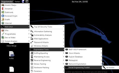 kali linux set toolkit tutorial russian hacker
