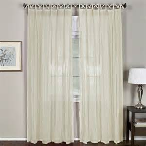 Single Window Curtain Elrene Home Fashions Greta Single Curtain Panel Amp Reviews
