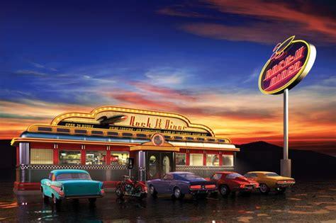 classic restaurant wallpaper 50s diner wallpaper wallpapersafari