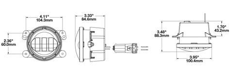 Jeep Wrangler Bulb Size Fog Led Lights Jeep Model 6145