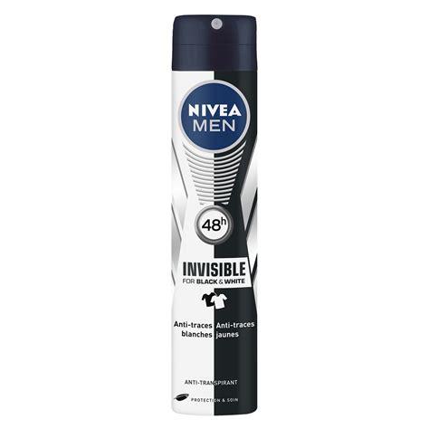 Nivea Black nivea d 233 odorant atomiseur invisible for black et white