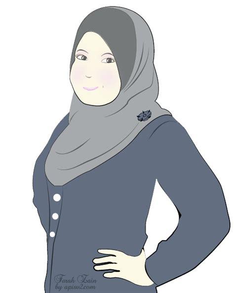 free doodle muslimah doodle muslimah untuk cik farah apis