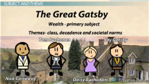 recurring themes in the great gatsby vocabulary gil writing portfolio