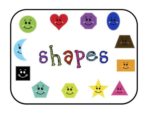 printable shapes shapes for bulletin boards printable preschool printables