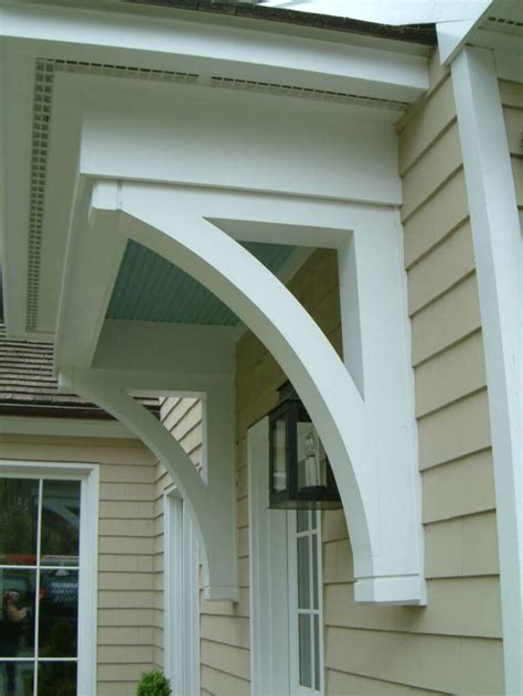Porch Corbels wooden door design