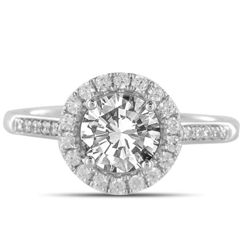 the history of the halo engagement ring heaven