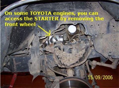 Toyota 4runner Starter Location 2001 Toyota 4runner O2 Sensor Location 2001 Free Engine