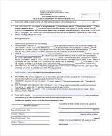 property sales contract template sle sales contract 7 documents in word pdf