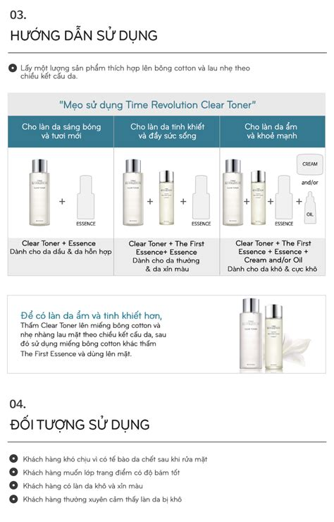Missha Time Revolution Clear Toner nước hoa hồng missha time revolution clear toner become vn
