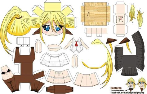Anime Paper Crafts - musume papercraft anime amino