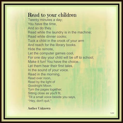 child poem nancy s activities for children tips on