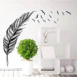 Wall Stickers For Home Decoration Stickers Muraux Plume Achat Vente Stickers Muraux