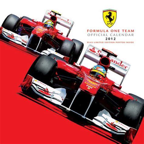 Ferrari Kalender by Ferrari F1 Kalender 2012 Kalender 30x30