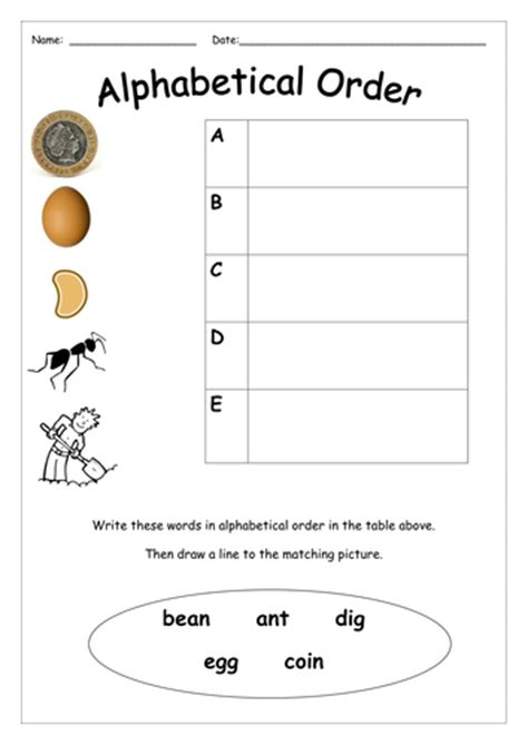 alphabet worksheets ks1 alphabetical order by missboult teaching resources tes