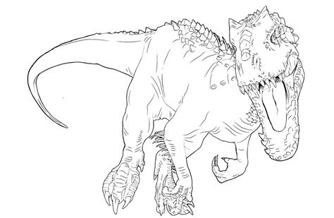 lego indominus rex coloring pages pictures to pin on