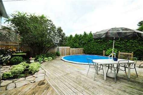 above ground pool deck   Landscape Designs