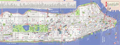 mapa nyc nueva york manhattan mapa