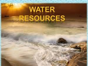 water resources authorstream