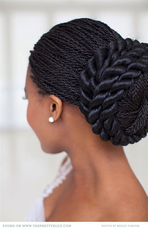Wedding Hairstyles With Box Braids by The Broom A Wedding Exclusively For Black