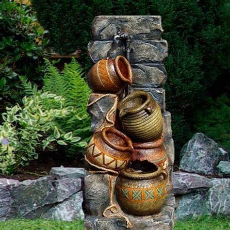 giardino con fontana fontana da giardino con modello brocche inclusa pompa
