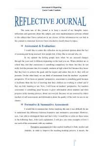 Journal Essay by Reflective Journal Unit 1