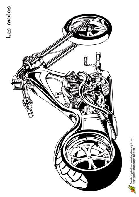 Motorrad Puzzle Kawasaki by Coloriage Transports Les Motos 08 Sur Hugolescargot