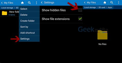 hide files android how to hide files on android without andoid apps kuppiya