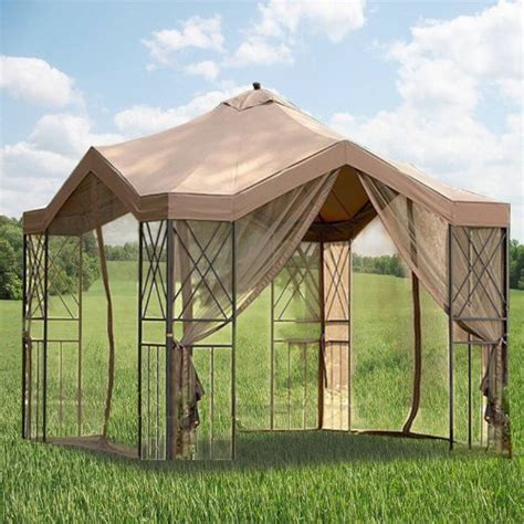 gazebo pagoda deluxe pagoda gazebo replacement canopy gazebos patio